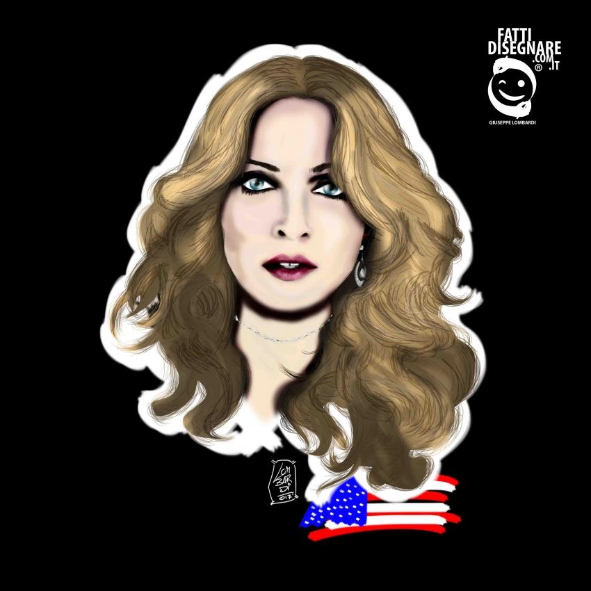Madonna by fattidisegnare